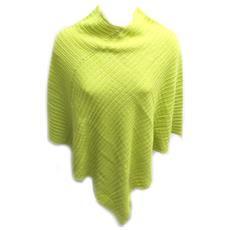 poncho '4 saisons' verde anice - [ c5845]