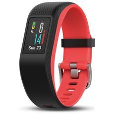 Vívosport Fitness band con GPS incorporato e Cardiofrequenzimetro S / M Nero / Fucsia