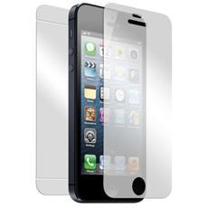 Kit Salvaschermo in Vetro Temperato per iPhone 5/5S