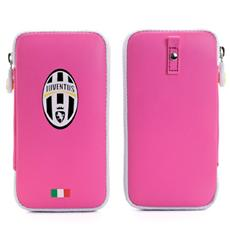 Juve Pu Case Zip Closure Pink