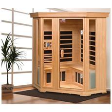 Sauna A Infrarossi Corneno Iv Hemlock 21421
