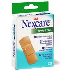 Nexcare Certotti Resistenti Ad Acqua 25x72mm 20pz