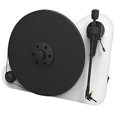 Giradischi PVTEBERW a Posizionamento Verticale Bluetooth RCA Colore Bianco