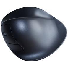 Hippus Handshoe Mouse medio sinistro wireless, LC, RF Wireless, Pressed buttons, Rotella, Batterie, Universale, Ioni di Litio