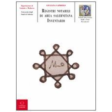 Registri notarili di area salernitana (sec. XV)