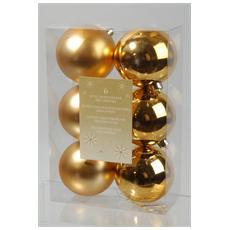 Sfera Liscia Diametro 80 mm Colore Oro