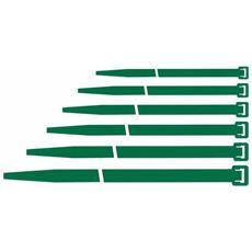 FASCETTE per Cablaggio MAURER Colore VERDE 140X3,6 Conf. 100 pz