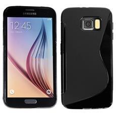 Cover S-Line Nero per Samsung Galaxy S6 G9200