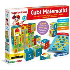 Cubi Matematici Sapientino Multicolore