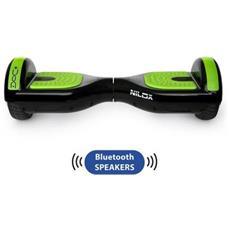 DOC+ Hoverboard Elettrico Nero con Speaker Bluetooth
