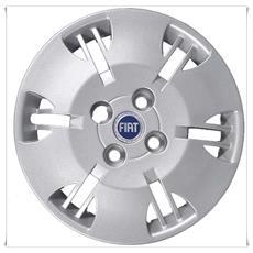 """Fiat Panda dal 2012 /> 1 Una  Borchia Copri Cerchio  Coppone Ruota 15/"""""""