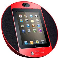 PIPDSP2R, 80 - 20000 Hz, iPad, iPhone, iPod, LCD, Rosso, AC, Audio (3.5mm)
