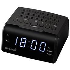 FRD35U Orologio Digitale Nero radio