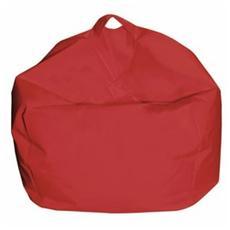 Pouf Arredo Modello Comodone Colore Rosso