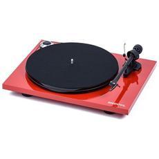 Giradischi Essential III Trazione a Cinghia RCA Colore Rosso