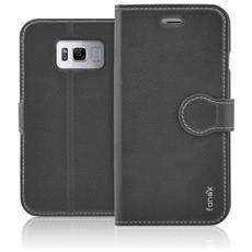 Flip Cover Custodia per Galaxy S8 Plus - Nero