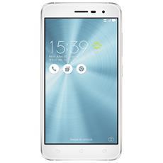 "Zenfone 3 Bianco 32 GB 4G/LTE Dual Sim Display 5.2"" Full HD Slot Micro SD Fotocamera 16 Mpx Android Italia"