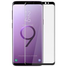 Pellicola Galaxy S9 Plus Etro Temperato Bordi Ricurvi Neri - 4smarts
