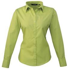 Camicia Maniche Lunghe Donna (it 44) (verde Lime)