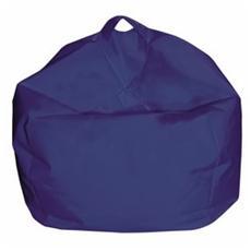 Pouf Arredo Modello Comodone Colore Blu