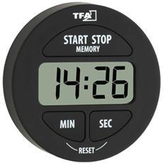 Timer Elettronico e Cronometro Nera LR44 38.2022.01