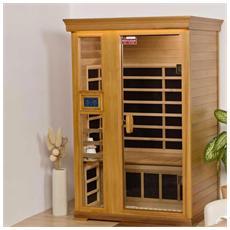 Sauna A Infrarossi Vilano Ii Hemlock 21221