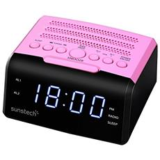 FRD35U Orologio Digitale Rosa radio