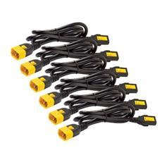 Power Cord Kit (6 Ea) Locking C13 To C14 0.6m
