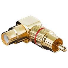 Wentronic A 196 R RCA RCA Oro cavo di interfaccia e adattatore