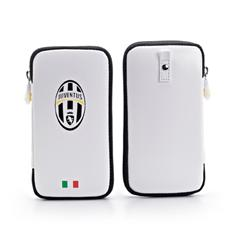 Juve Pu Case Zip Closure White