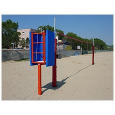 Mf5510 impianto beach volley beach tennis pallavolo rete sport