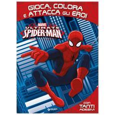 Gioca, colora e attacca gli eroi. Ultimate Spider-Man