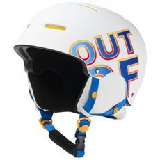 Casco Snowboard Wipeout Bianco Blu S