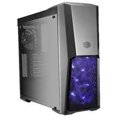 Case MasterBox MB500 Middle Tower ATX / Micro-ATX / Mini-ITX 2 Porte USB 3.0 Colore Nero (Finestrato)