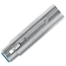 AT350 XLR 3-pin XLR 3-pin Argento cavo di interfaccia e adattatore