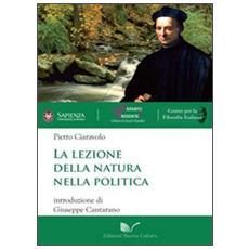 La lezione della natura nella politica