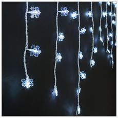 Tenda Neve Esterno 94 LED Bianco Freddo da 3 x 0.8 Metri