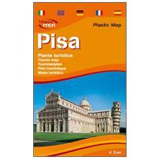 Pisa. Pianta turistica 1:4.000
