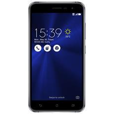 """Zenfone 3 Nero 32 GB 4G/LTE Dual Sim Display 5.2"""" Full HD Slot Micro SD Fotocamera 16 Mpx Android Italia"""