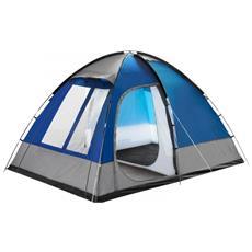 Tenda Outdoor A Cupola 4 Posti H190 Cm Tipo Famigliare Forma A Igloo