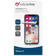 Pellicola Protettiva Anti Impronta per Iphone X (2Pz)