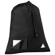 Sacca Per Palestra (6 Litri) (taglia Unica) (nero)