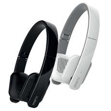 CUFFIE BLUETOOTH ATLANTIS P003-H04-W BIANCHE CON MICROFONO - per Smartphone / MP3 / MP4 -Prot. anatomica orecchie EAN: 8026 Fino: 31/12