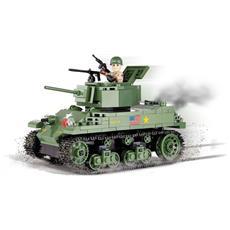 Carro Armato Leggero Americano Con Cannone M6 Calibro 37mm. Il Carro Armato Disponeva Di Una Carica Fino A 116 Proiettili. Il Modello Dispone Di Torretta Rotante Con Canna Regolabile, Portello Apribile E Copertura Del Motore - 94476