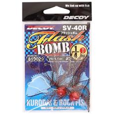 Decoy Sv-40i Flash Bomb Col. Red 1/4 Oz