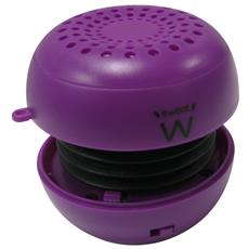 eBubble Speaker Portatile Smartphone / Tablet USB Viola