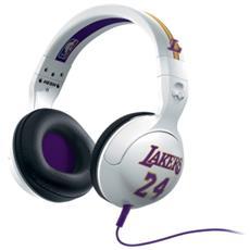 Cuffie Hesh 2.0 Over-Ear Microfono Lakers Bianco