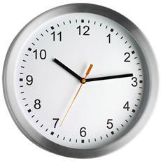 Orologio Elettronico da Parete Argento Aluminio 981045