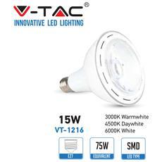 Lampadine Led E27 15w Par 38 Lamp Smd Luce Naturale 4500k Vt-1216 4270