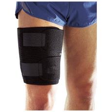 Protezione Coscia Ambidestro Fascia Supporto Elastica Tutore Fitness Con Chiusura In Velcro Neoprene